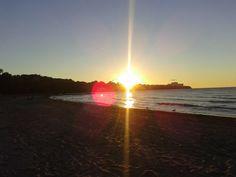 Nos encantan las puestas de sol! Esta es de Cleveland (Ohio)