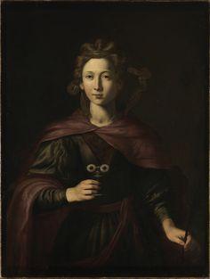 Francesco Guarino, Den hellige Lucia (c.1600)
