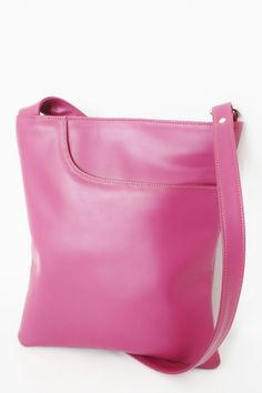 Radiant Orchid Periwinkle Leather Cross body from Leatheropia.  Available at http://www.leatheropia.com/periwinkle/