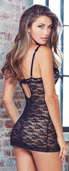 These beautiful models wearing sexy lingerie will definitely make you horny! If you like seeing a hot dame wearing erotic lingerie, then these galleries are the right thing for you. Sexy Outfits, Sexy Dresses, Lingerie Outfits, Look Girl, Glamour, Girl Fashion, Womens Fashion, Black Lingerie, Sexy Women
