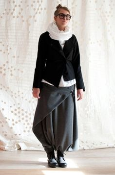 Skirt or pants? altrove  www.iosonoaltrove.com