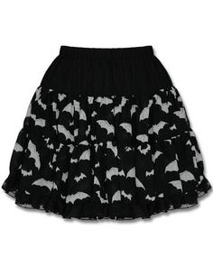 .Hellbunny Bat Skirt - UK