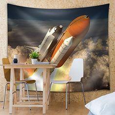 Wall26 - Rocketship Taking Off into Space - Fabric Tapest... https://www.amazon.com/dp/B01EMJ2VUQ/ref=cm_sw_r_pi_dp_x_dLe.xb37NA7GF