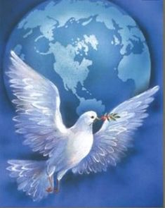 All Sovereign Nations of The World Have Signed Mutual Binding Treaties at Summit Orishas Yoruba, Peace Bird, Dove Pictures, Pictures Of Jesus Christ, Spiritual Images, Christian Artwork, Good Night Greetings, Jesus Painting, Jesus Art