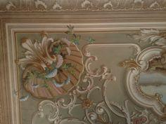 Wall decoration Villa on Lake Como