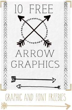 Arrow Graphics free printable