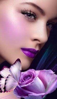 Purple Sparkle, Purple Love, Septum Ring, Jewelry, Puzzle, Fashion, Crystals, Hearts, Aqua