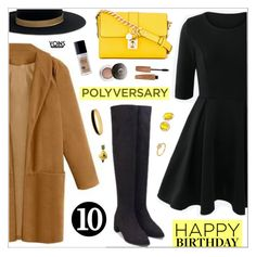 """""""Celebrate Our 10th Polyversary! yoins291"""" by nastenkakot ❤ liked on Polyvore featuring Janessa Leone, Dolce&Gabbana, Rimmel, Chantecaille, Kate Spade, Halcyon Days, Van Cleef & Arpels, polyversary, contestentry and yoins"""