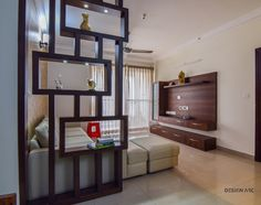 Living Room Interior living room tv unit interior design bangalore: modern living room CQISDJZ - Home Decor Ideas - Safia Siddiqa - Indian Living Rooms Living Room Wall Units, Living Room Modern, Living Room Interior, Living Room Designs, Modern Wall, Modern Tv, Living Rooms, Small Living, Bedroom Modern