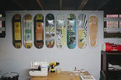 Freunde von Freunden - John & Jen Vitale, Skateboard Designer & Stylist, North Portland, Portland