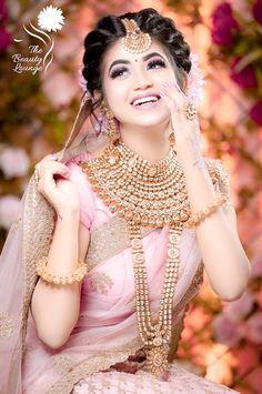 Saree Idea You Adore Saree look you adore Bridal Hairstyle Indian Wedding, Indian Bridal Photos, Bengali Bridal Makeup, Indian Wedding Makeup, Indian Wedding Bride, Indian Bridal Hairstyles, Bridal Makeup Looks, Indian Bridal Outfits, Indian Bridal Fashion