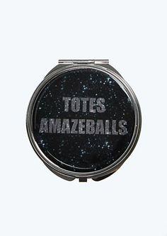 Totes Amazeballs Compact Mirror | Fragrance & ruebeaute! | rue21