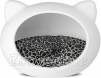 Домик Guisapet Cat для кошек с подушкой, 40*50*40 см