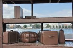 Lost Luggage Depot, Rotterdamse haven - Jeff Wall Jeff Wall, Outdoor Furniture, Outdoor Decor, Gazebo, Outdoor Structures, Photography, Lost, Home Decor, Google