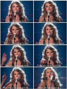 "Tell them how the crowds went wild, tell them that i hope they shine!! ""Long Live"" - Speak Now Tour"