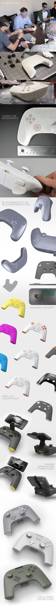 GAMER PRO by PENSAR , via Behance