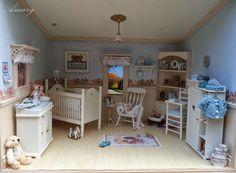 Vitrine Miniature, Miniature Dollhouse Furniture, Miniature Rooms, Modern Dollhouse, Dollhouse Miniatures, Mini Doll House, Barbie Doll House, Baby Doll Nursery, Doll House Crafts