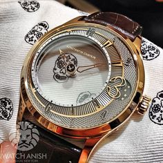 Before there was Cartier, Mr Konstantin Chaykin had the mechanical 'Mystery' see through time display!Live from Basel