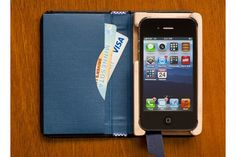 PQ Little Black Book iPhone Case 4/4S with Pocket