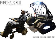 Ripchair 30 le fauteuil roulant tout terrain video  2Tout2Rien
