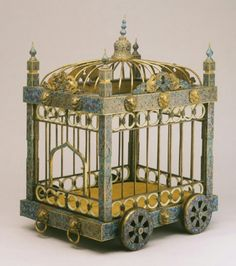 18th century bird cage, used by Royalty