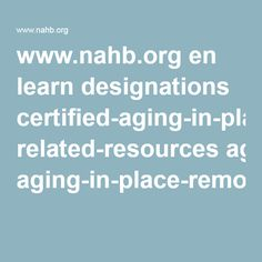 aging resources aspx