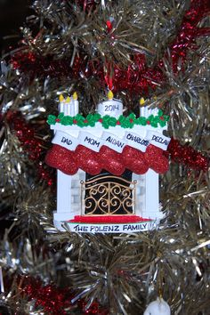 Ornaments With Love Personalized Ornament Review & Giveaway 11/9 US/CAN