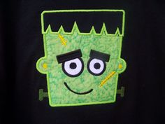 Frankenstein Halloween Shirt    Halloween is coming!!! Join in the fun with this super cute shirt! This listing is for a Frankenstein shirt,