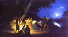 Night on the Eve of Ivan Kupala | by Henryk Hector Siemiradzki