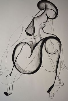 Drawing by Carmel Jenkin  Dance Is Over, charcoal on paper, 81cm x 57cm