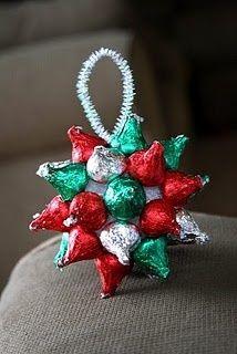 Kisses Ornament