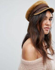 2893a1ba6f3 Brixton Cord Baker Boy Hat