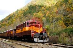 Great Smokey Mountain Railroad ~  Bryson City, NC  ~ The places I have traveled