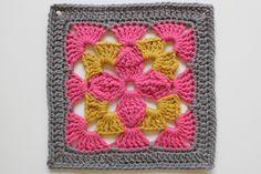 A Granny a Day - Dana Beach of craftyminx.com's 365 day project last year #crochet #grannysquare