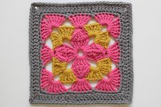A Granny a Day - Dana Beach of craftyminx.com's 365 day project last year #crochet #grannysquare