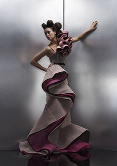 Fashion design by Sarah Schofield. RMIT University. http://www.rmit.edu.au/programs/bp194