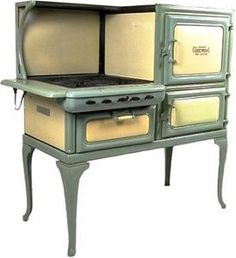Glenwood gas stove  http://www.goodtimestove.com/shop-antique-stoves/cook-stoves-for-the-kitchen