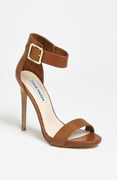 Steve Madden Shoe (If you getting too old for very high heels wear this style, most comfortable high heal)