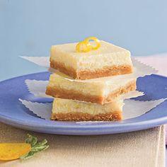 Lemon-Cheesecake Bars | MyRecipes.com