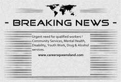 With such a high demand for qualified workers in the service industry don't let an opportunity at Careers Queensland be missed. Visit our website today www.careersqueensland.com