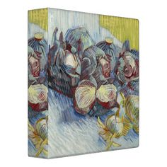 Red Cabbages and Onions by Vincent Van Gogh Binders