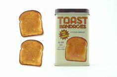 Toast bandages