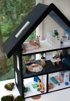 Diy dollhouse furniture modern miniatures miniature bed for Classic house follow me