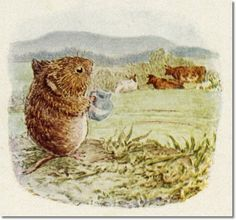 Beatrix Potter - The Tale of Johnny Town-Mouse - 1918 - I Will Beg a Little Milk They Are Quite Harmless