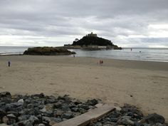 Marazion Beach in Marazion, Cornwall