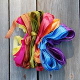 Traditionally used as seam binding, this rayon ribbon is great for a variety of crafts...