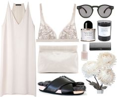 fashionfever:  Nude/pinks by kristyyw featuring a flower arrangement