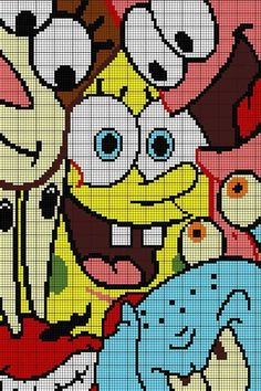 Sponge Bob c2c
