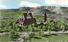 Want to go here, a whole city moved because of mining. Kiruna Church, Lappland, Sweden