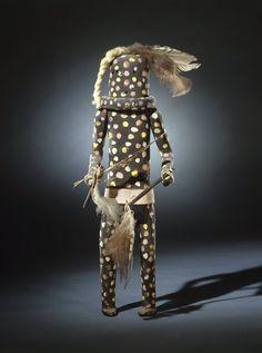 Brooklyn Museum: Kachina Doll (Shulawitsa Kohana)